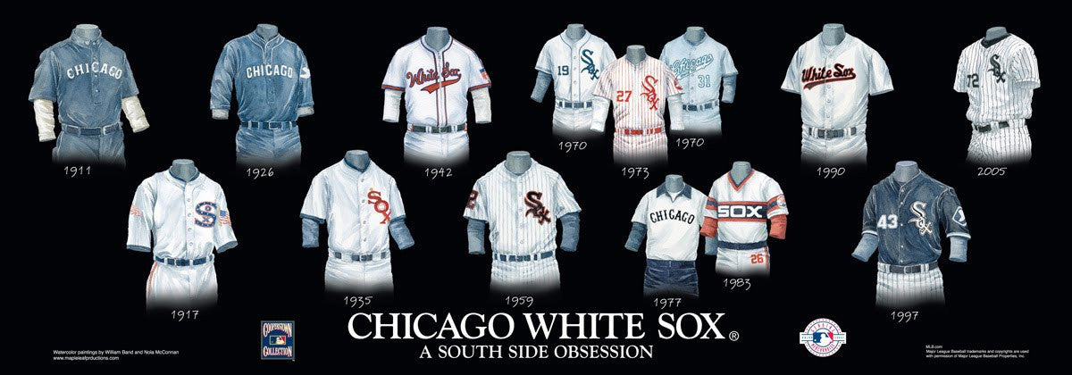 Chicago White Sox: A South Side Obsession Poster by Nola McConnan and William Band