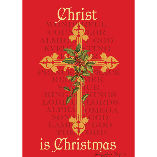 Christ is Christmas: African American Christmas Card