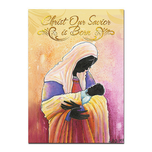 Christ Our Savior Is Born: African American Christmas Card Box Set by D.D. Ike