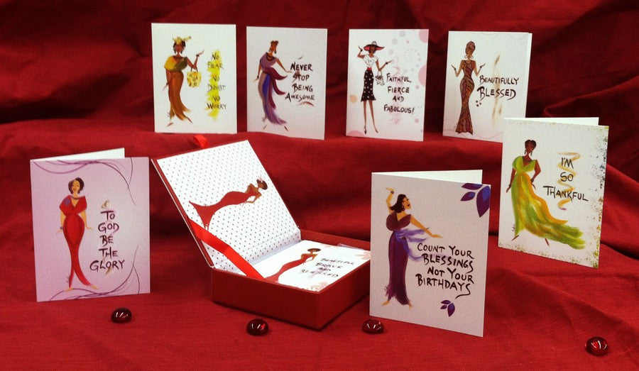 Cidne Wallace Cigar Boxed Note Card Set