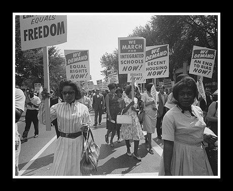 Civil Rights March, Washington D.C. (1963) by McMahan Photo Archive