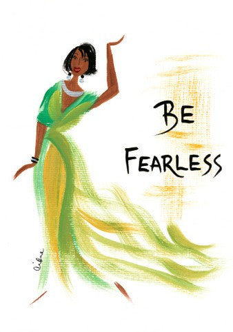 Be Fearless Magnet by Cidne Wallace