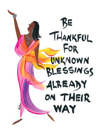 Be Thankful Magnet by Cidne Wallace