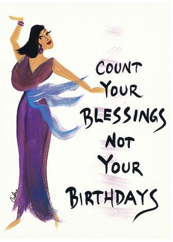 Count Your Blessings Magnet by Cidne Wallace