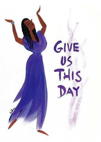Give Us This Day Magnet by Cidne Wallace