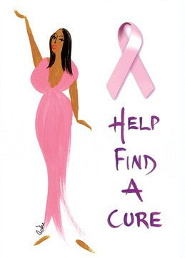 Help Find a Cure Magnet by Cidne Wallace