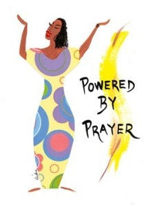 Powered by Prayer Magnet by Cidne Wallace
