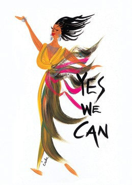 Yes We Can Magnet by Cidne Wallace
