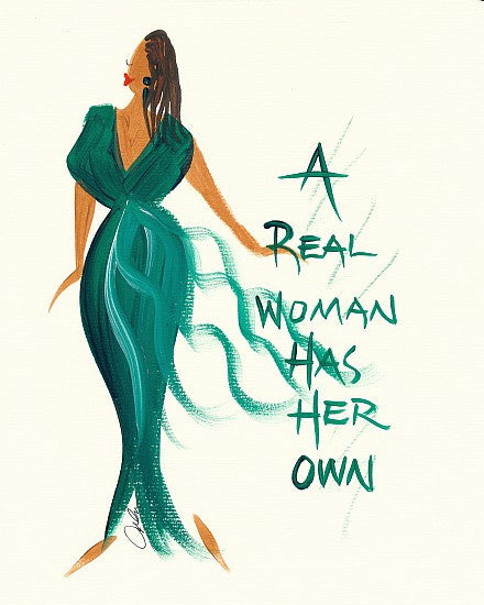 A Real Woman Has Her Own Magnet by Cidne Wallace