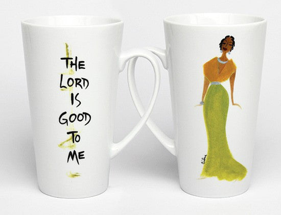 The Lord is Good to Me Mug by Cidne Wallace