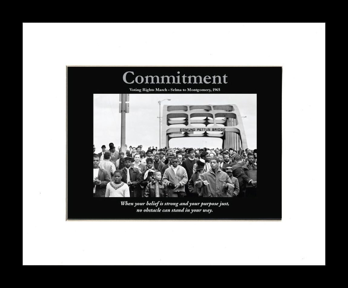 Commitment (Selma) by D'azi Productions (Black Frame)