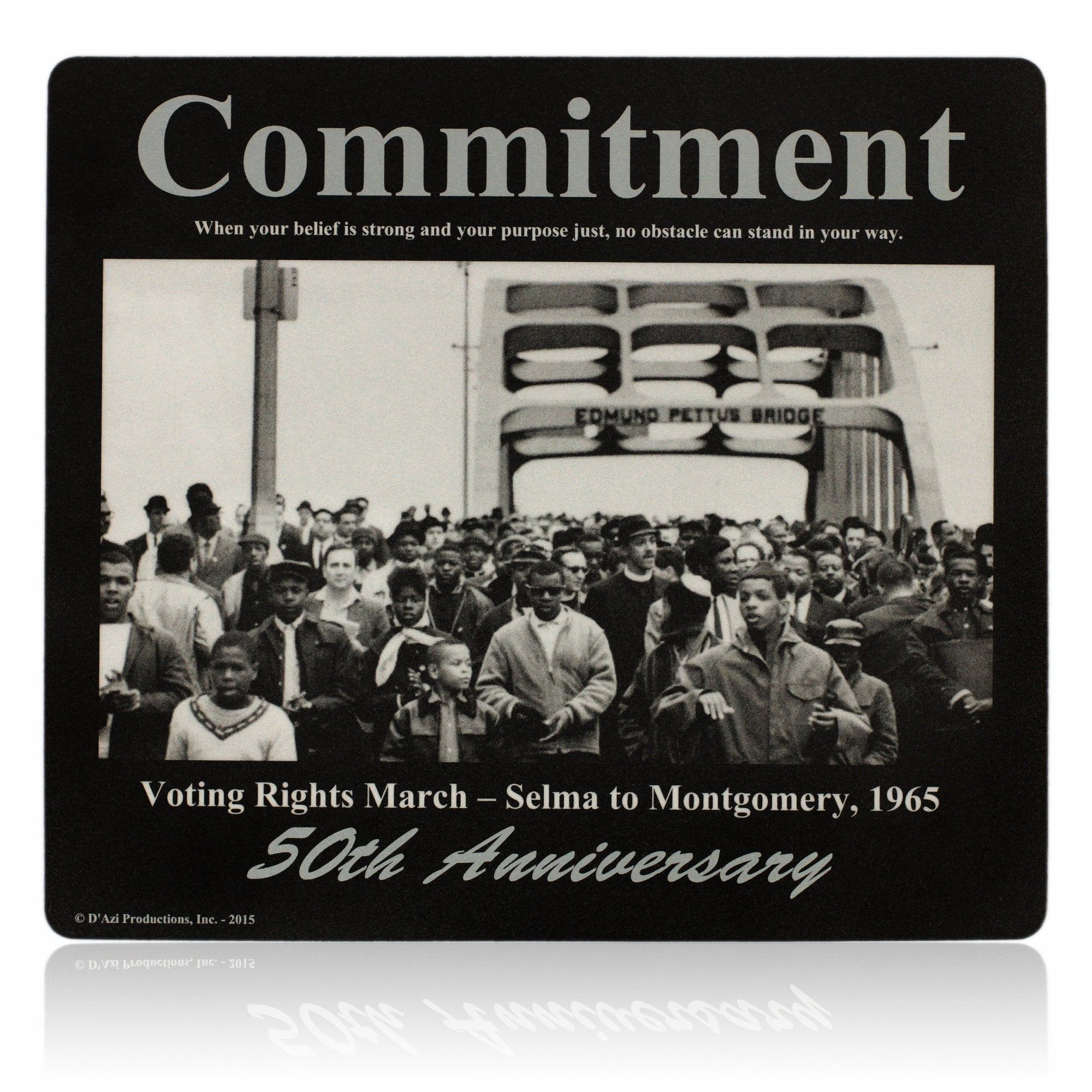 Commitment Motivational Mouse Pad by D'azi Productions