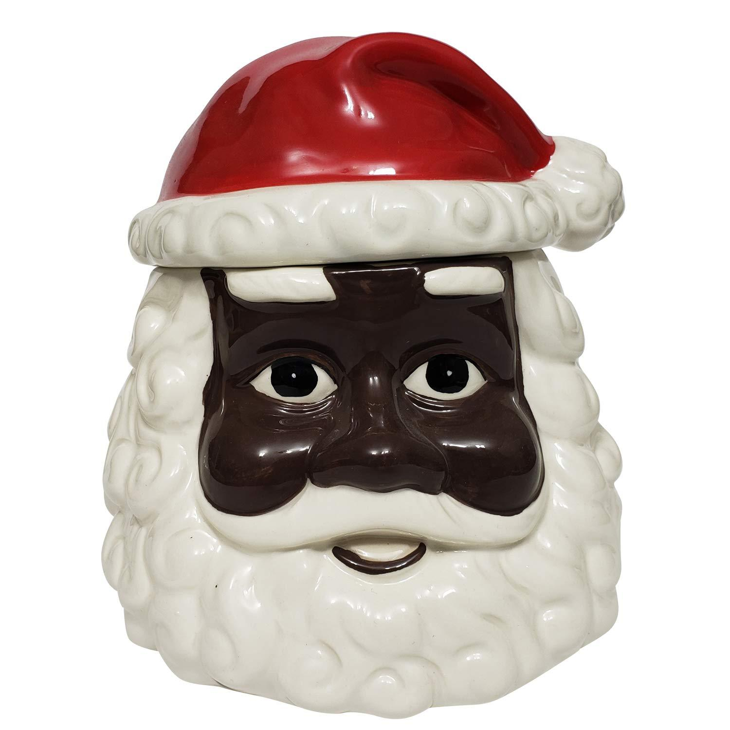 African American Santa Claus Cookie Jar by Soulful Generations