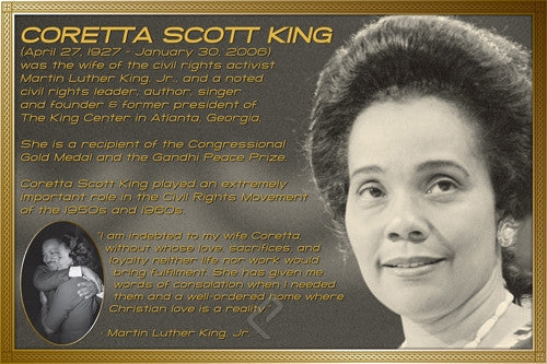 Coretta Scott King Poster