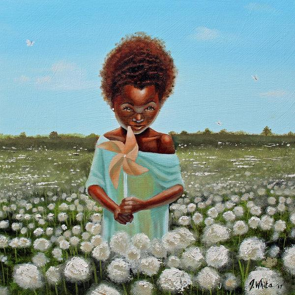 Cotton Grass by Jerome T. White