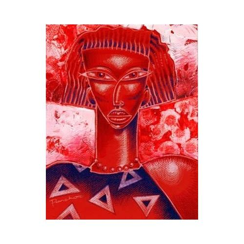 "Crimson Diva (Delta Sigma Theta) by Larry ""Poncho"" Brown"