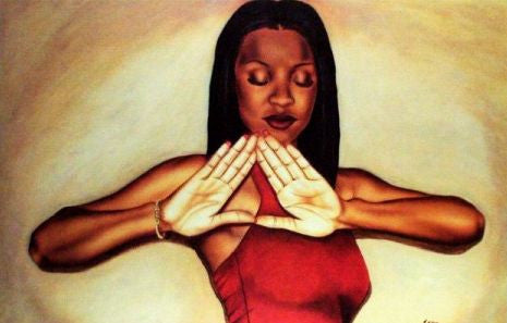 Crimson Queen (Delta Sigma Theta) by Fred Mathews