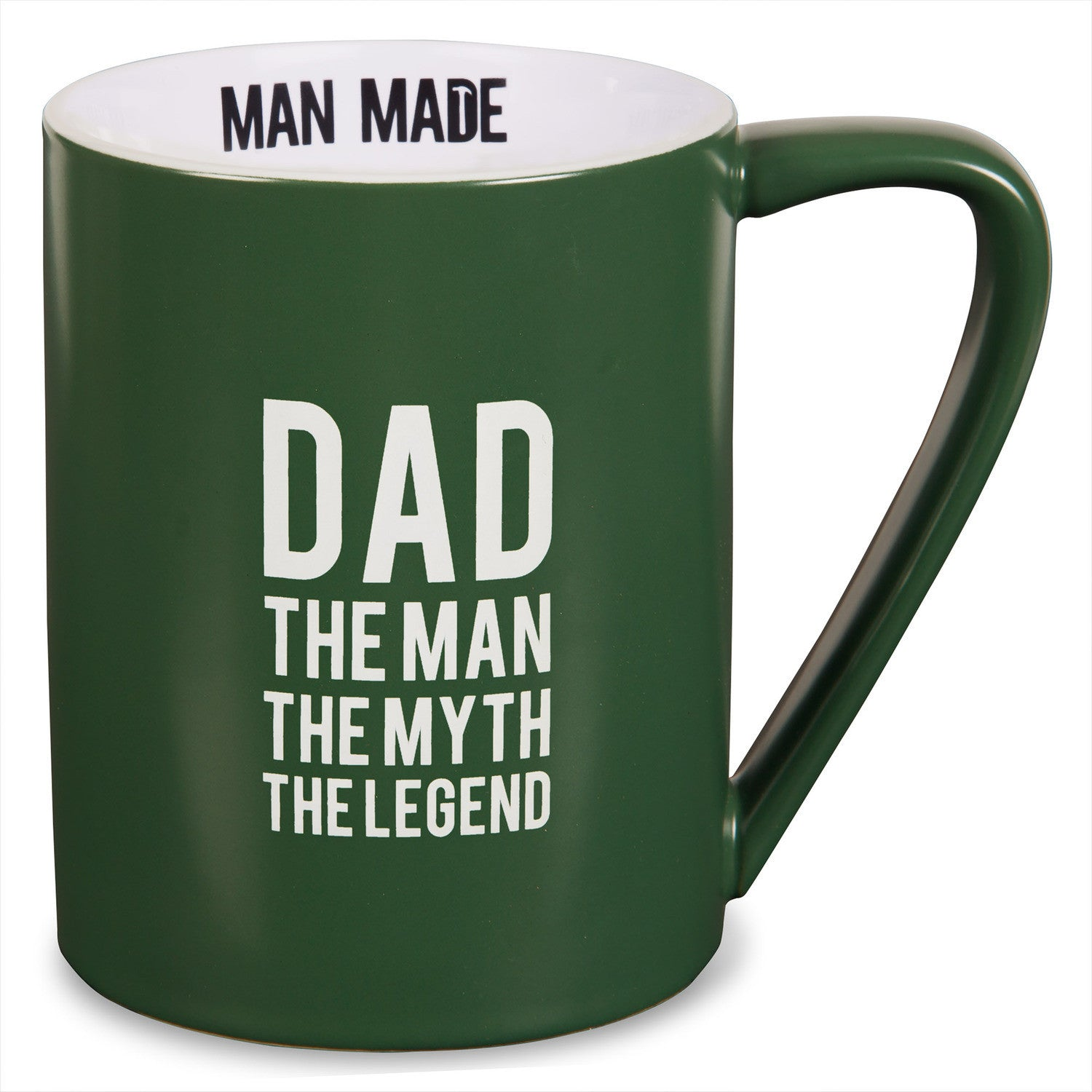 Dad the Man, the Myth, the Legend (Man Made) by Pavilion Gifts (Front)