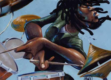 Dreds 'N Drums by David Garibaldi