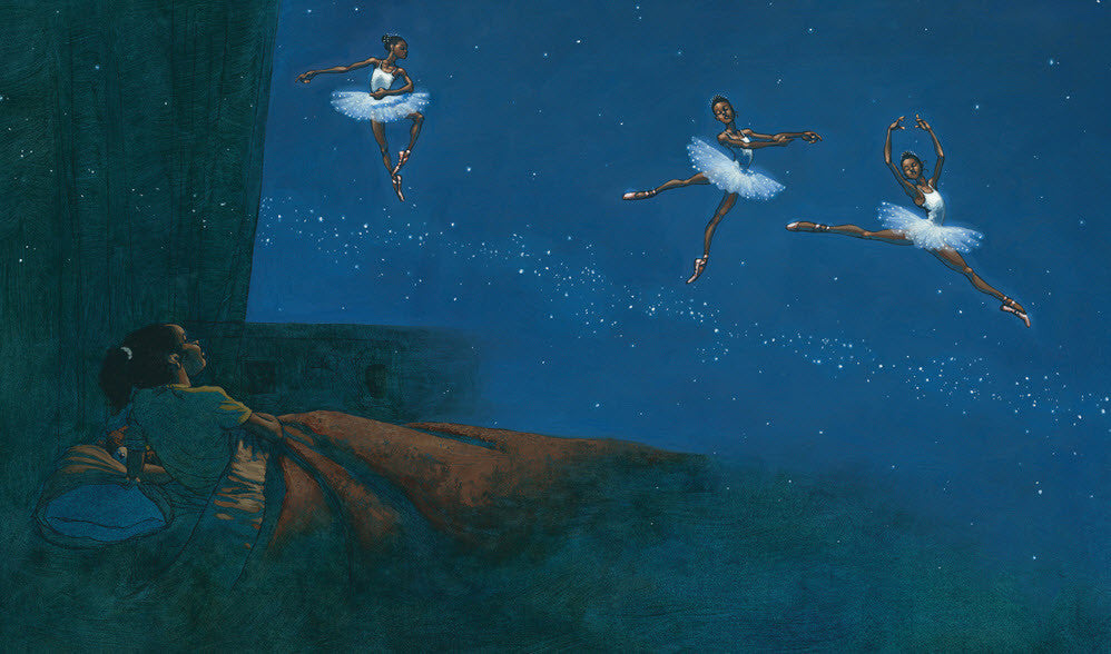 Dancing on the Milky Way by Kadir Nelson