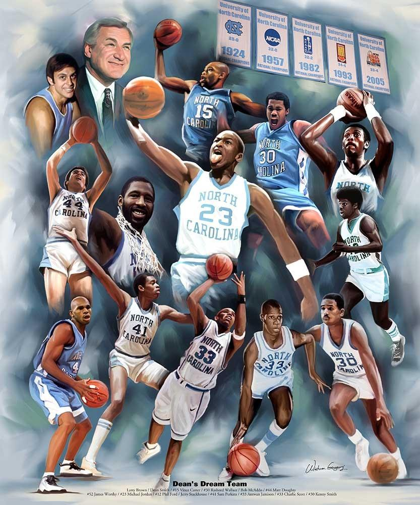 Dean's Dream Team: University of North Carolina by Wishum Gregory
