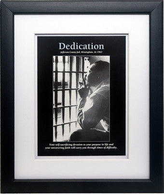 Dedication: Martin Luther King, Jr. by D'azi Productions (Framed)