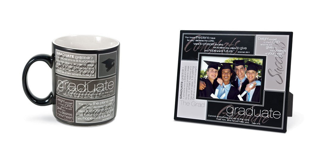 Graduation Mug and Frame Gift: Definition Collection by LCP Gifts