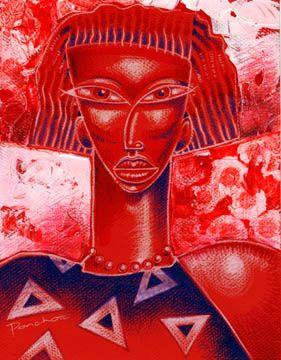 "Delta Diva (Delta Sigma Theta) by Larry ""Poncho"" Brown"