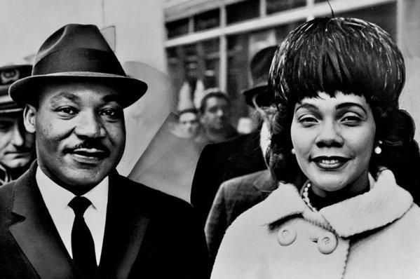 Martin Luther King and Coretta Scott King by Benjamin Yeager