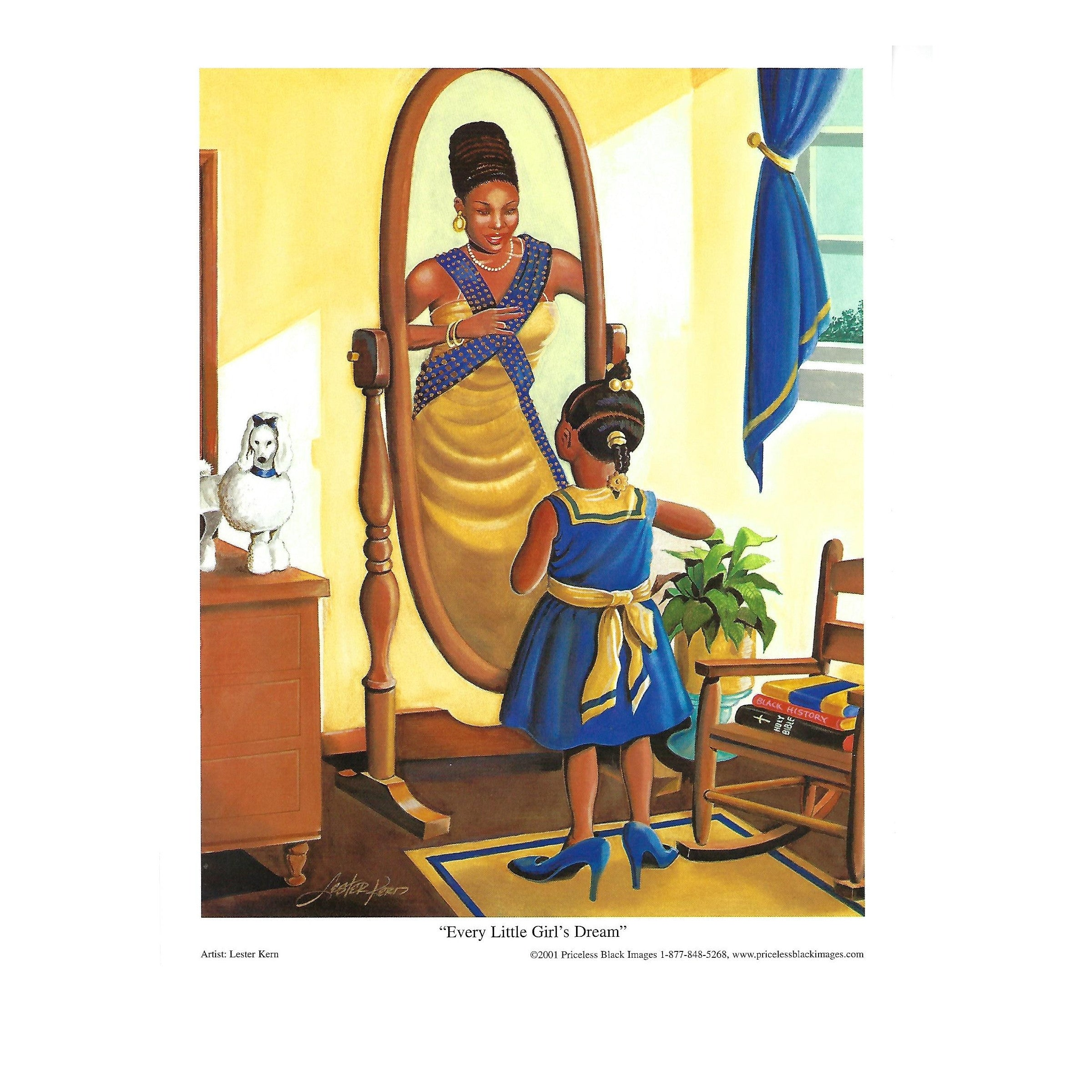 Every Little Girl Dreams Sigma Gamma Rho by Lester Kern