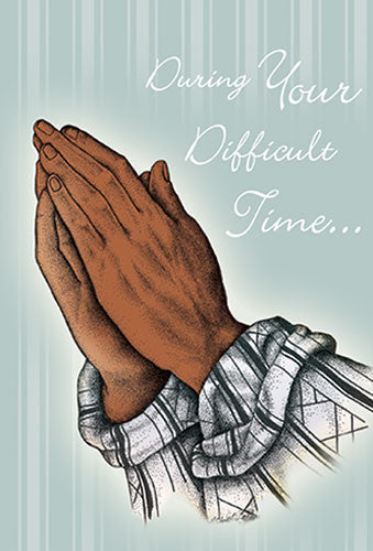 During Your Difficult Time: African American Sympathy Card