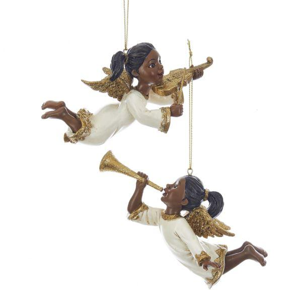 Musical Angels: African American Christmas Ornaments by Kurt Adler