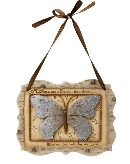 Mother Butterfly Plaque
