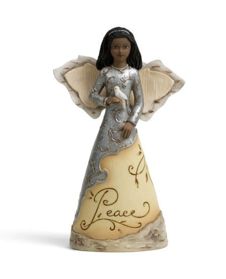Peace Angel With Dove Ornament