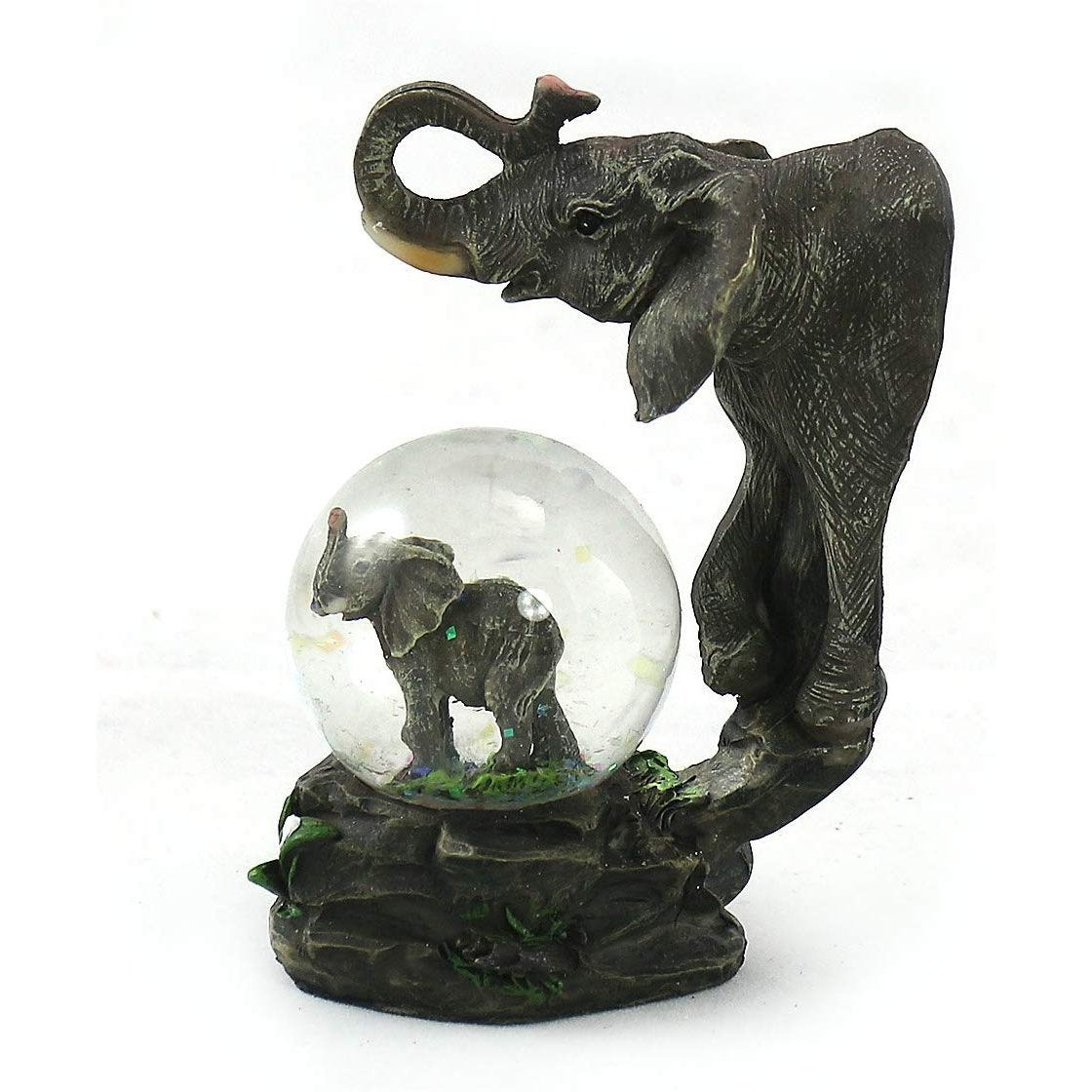 Wisdom and Loyalty: Elephant Waterglobe by Elephant Boutique