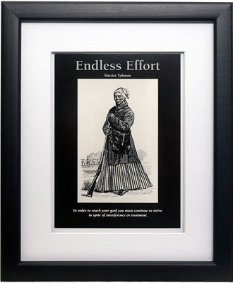 Endless Effort: Harriet Tubma by D'azi Productions (Framed)