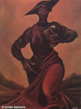 Come Sunday By Ernie Barnes The Black Art Depot