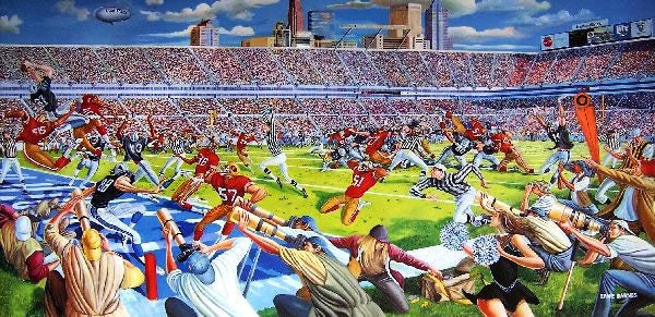 Victory In Overtime by Ernie Barnes