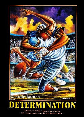 The Sack (Determination) by Ernie Barnes
