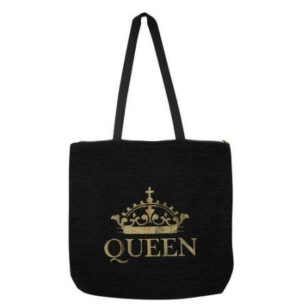 Queen: African American Inspirational Tapestry Tote Bag