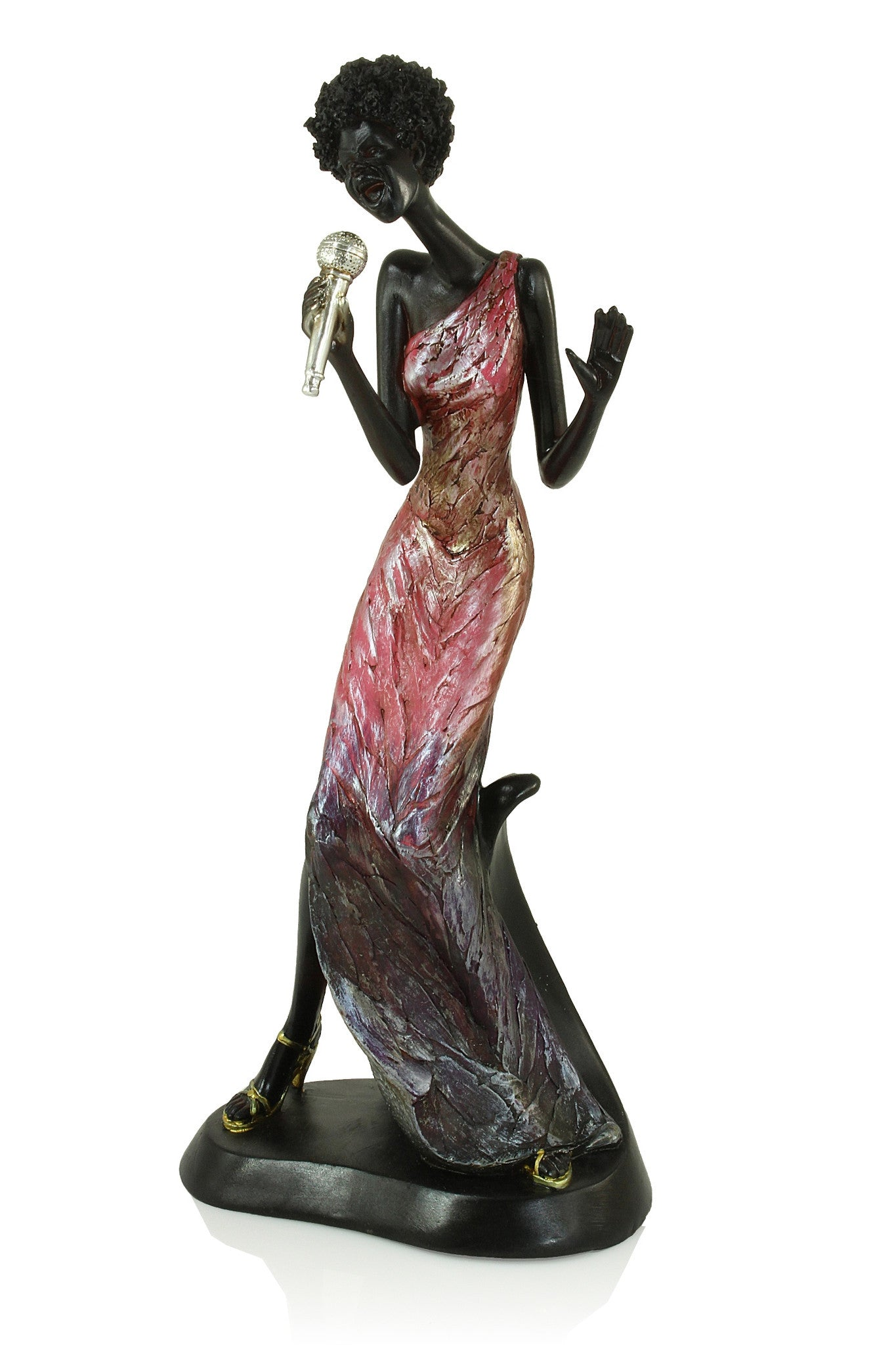 The Female Vocalist: Jazz Player Figurine Collective