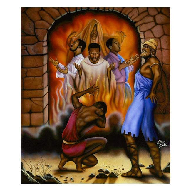 Fiery Furnace: Shadrach, Meshach and Abednego by Alan and Aaron Hicks