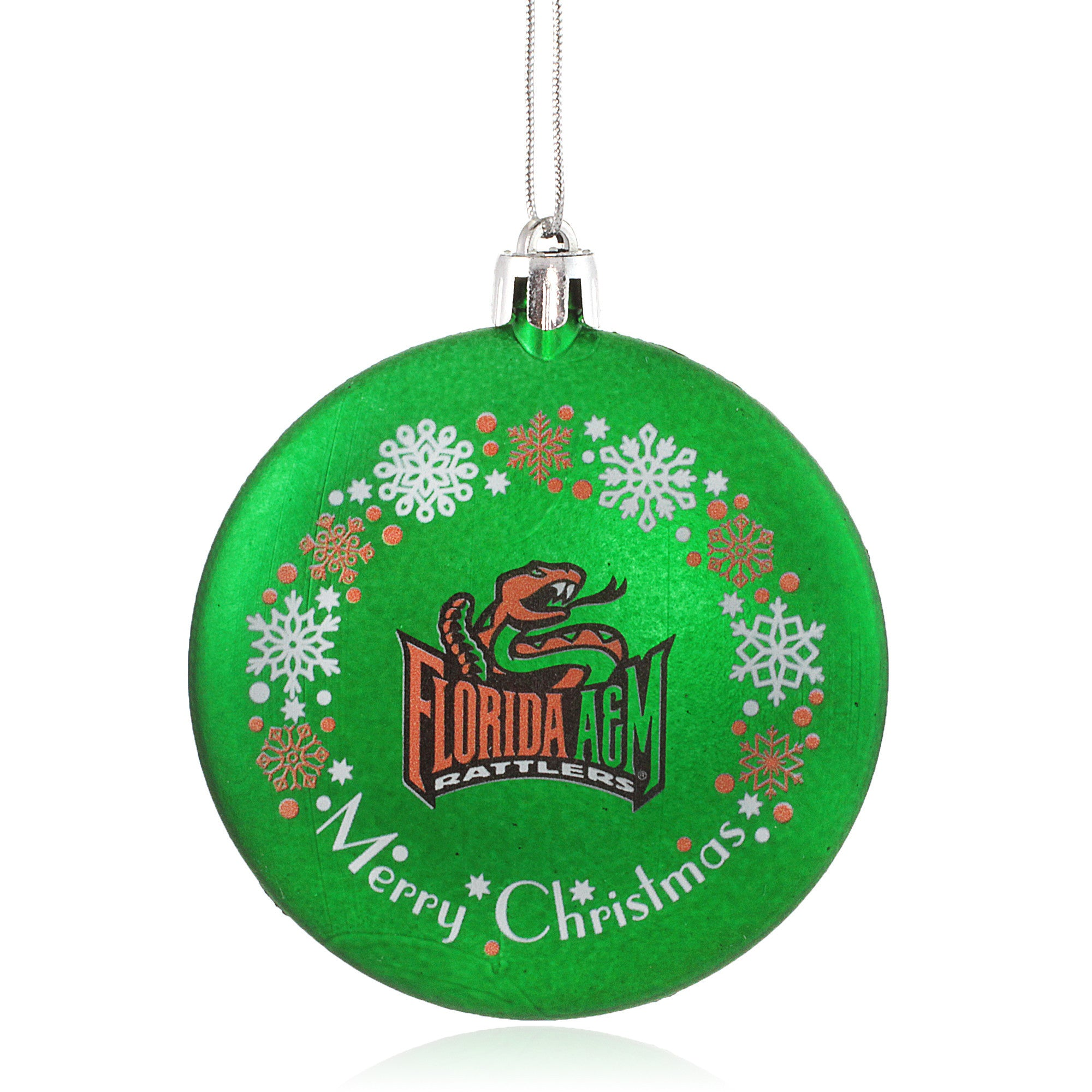 Florida A&M University Rattlers Christmas Ornament