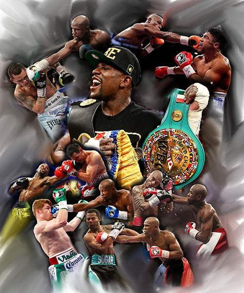 "Floyd ""Money"" Mayweather by Wishum Gregory"
