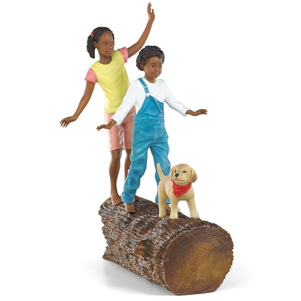 Follow the Leader Figurine by Thomas Blackshear