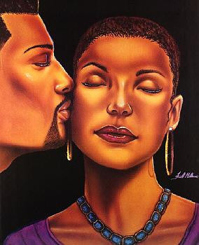 Loving Kiss by Fred Mathews