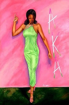 Alpha Kappa Alpha by Fred Mathews