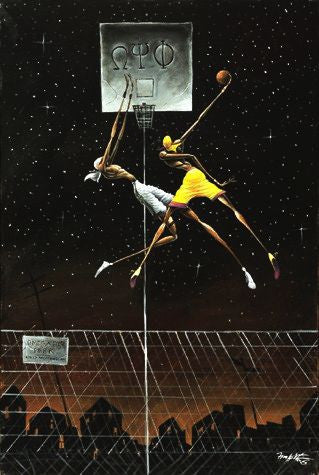 Omega Fly Dunk by Frank Morrison