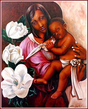 Madonna And Child by Gerald Ivey