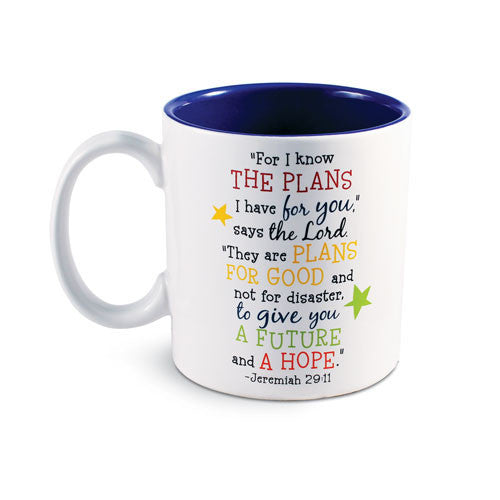 Colorful Graduation Mug by LCP Gifts